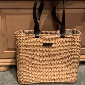 Kenneth Cole Straw Island Bag
